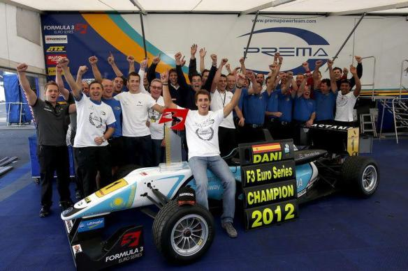 Daniel Juncadella campeon F3