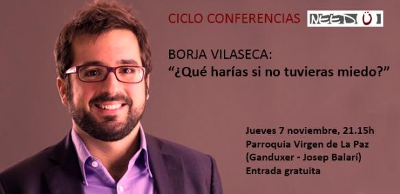 Conferencia Borja Vilaseca